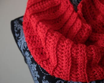 Bright Red Cowl #2