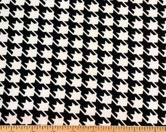 black and white patchwork fabric Robert Kaufman REMIX