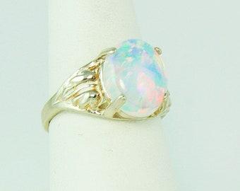 opal ring, Australian opal, fire opal ring, opal engagement ring, white opal ring, opal ring silver, bridesmaid proposal, dainty ring, gift