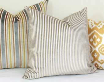 Silver gold velvet pillow cover 18x18 20x20 22x22 24x24 26x26 Silver Euro sham gold Lumbar pillow silver 12x24 14x24 14x26 16x24 16x26