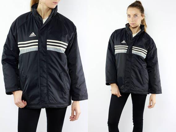 Adidas Puffer Jacket / Adidas 90s Jacket / Adidas Jacket / 90s Puffer Jacket / Puffer Jacket / Adidas Vintage / Adidas 90s / 90s Jacket