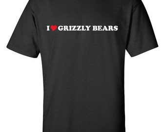 Grizzly shirt etsy publicscrutiny Gallery