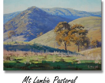 Landscape Painting Oil Painting Ranch Landscape
