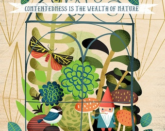 Contentedness Is the Wealth of Nature