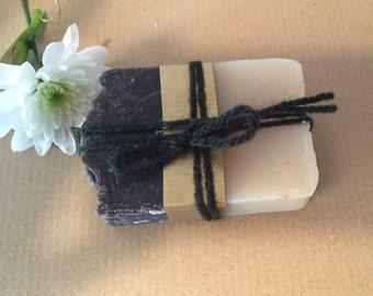 Charcoal vanilla SOAP