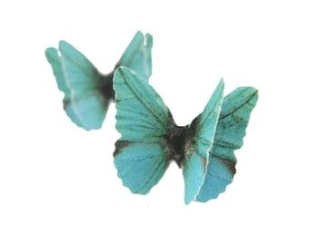 Butterfly Earrings Hypoallergenic Studs Butterfly Stud Earrings Studs Butterfly Gift Hypoallergenic Earrings Paper Earrings Sterling Silver