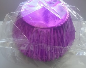 Purple Muffin Baking Cups Pack 50
