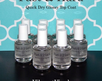 Fast & Hard - Quick Dry Glossy Top Coat
