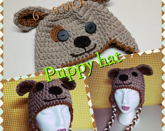 Cute baby puppy hat