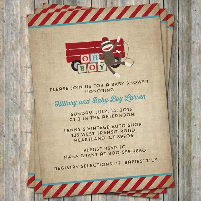 Vintage toys baby shower invitation wooden blocks digital zoom filmwisefo Image collections