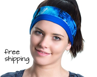 Sports Sweatband - Moisture Wicking - Ideal for Fitness Workouts, Running, the Gym & Yoga - Designed for the Active Women