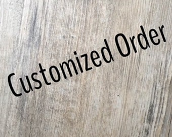 Customized Order