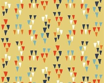 Wildland Arrowhead Sun Organic Cotton by Birch Fabrics