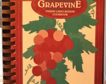 Thru The Grapevine, Finger Lakes Region Cookbook, Junior League of Greater Elmira-Corning, 1994