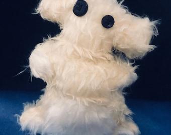 Stuffed Animal Teddy Bear Alien Doll Yeti Bear Handmade Childrens Soft Toy Ugly Teddy Bear Plushie