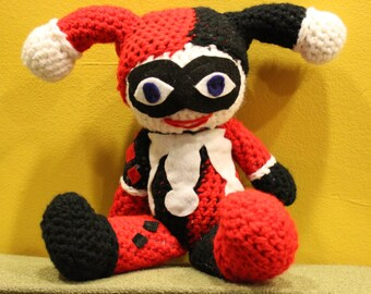 Crochet Harley Quinn from batman