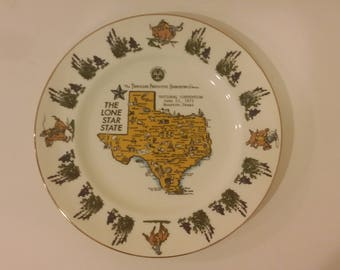 Vintage Travelers Insurance National Convention Plate, 1975