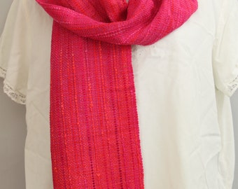 Scarf in Hot Pink