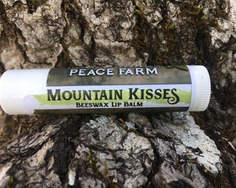 Mountain Kisses: Beeswax Lip Balm