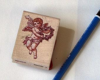 Used cherub stamp