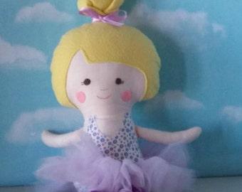 Lila Ballerina Doll