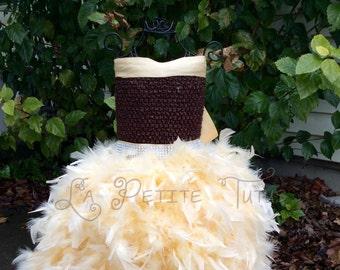 Costume, pageant dress, pageant wear, handmade, lion dress, feather dress, lion tutu, feather tutu, girls tutu, girls dress, photo prop