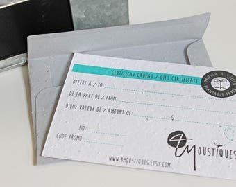 Paper seed envelope