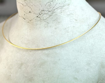 Necklace Stainless Steel gold 585 jewelry design catch fresh hand made in Germany