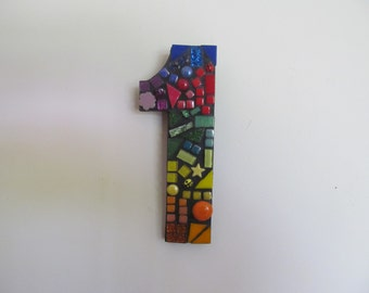 Mosaic House or Letterbox Number 1