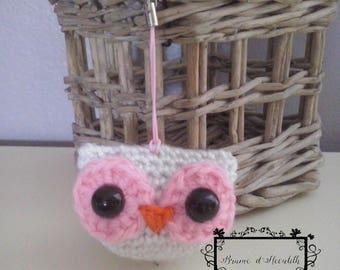 Amigurumi white owl