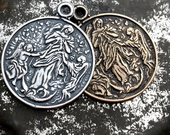 Mary Undoer of Knots Medal - Untier of Knots - Bronze or Sterling Silver - Reproduction - Made in the USA