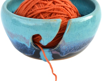 Mountain Waves Yarn Bowl