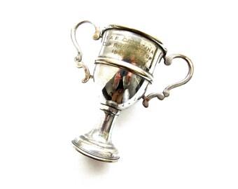 Vintage World War Two 1940s British Trophy Cup - RAF Quastina, Palestine