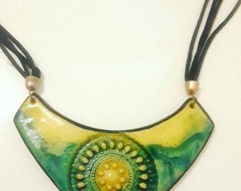 Unique Vintage 90s necklace, vintage necklace