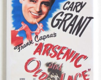 Arsenic and Old Lace Movie Poster Fridge Magnet
