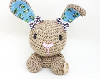 Baby Bunny crochet doll