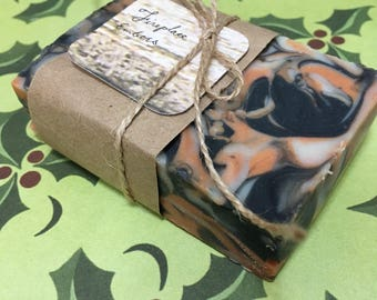 Fireplace Embers Bar Soap