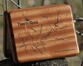 Trinity River Map Fly Box...