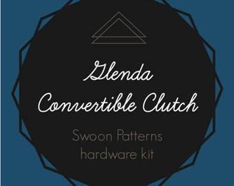 Glenda Convertible Clutch - Swoon Hardware Kit