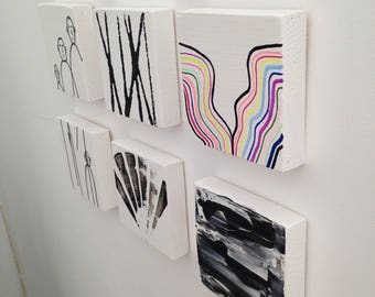 Painting modern contemporary art