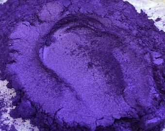 Iridescent Violet (Purple) Pearlescent Pigment Cosmetic Grade Colorant for Nail Polish, Crafts, Makeup, Eye Shadow, Lip, Soap, Paint 6031