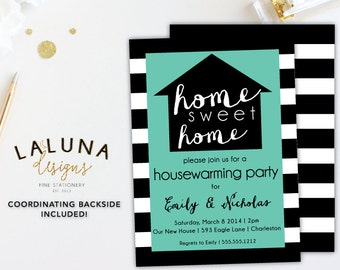 Housewarming Invitation Party Invite Home Sweet