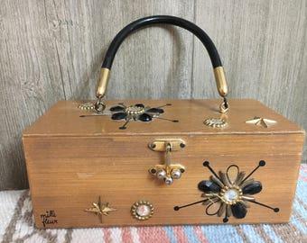 Enid Collins Vintage Box Bag