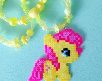 My Little Pony Fluttershy necklace
