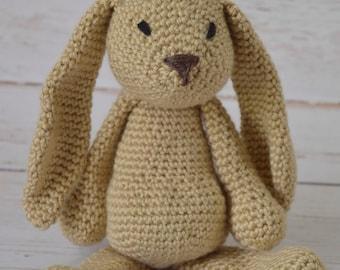 Crochet bunny, crochet baby toy, stuffed rabbit, crochet toy, crochet rabbit, baby toy, stuffed animal, easter bunny