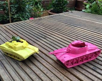 Tank Succulent Planters