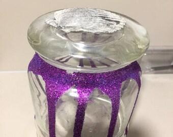 beautiful glitter jars