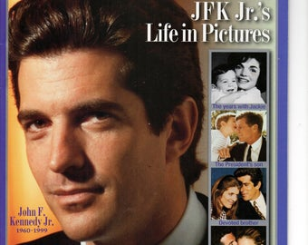 People Magazine JFK Jr Life in Pictures 1999