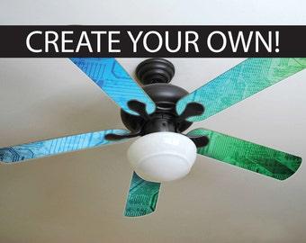 Kids ceiling fan etsy custom ceiling fan aloadofball Images