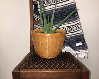 Wicker Basket / Plant Holder